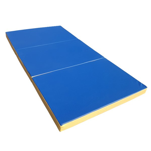 Gymnastics mat 210 x 100 x 8 cm folding