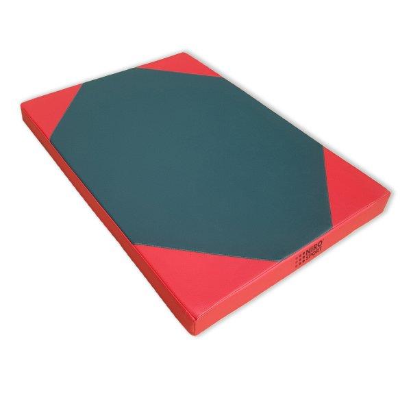 Turnmatte 100 x 70 x 8 cm Grün/Rot
