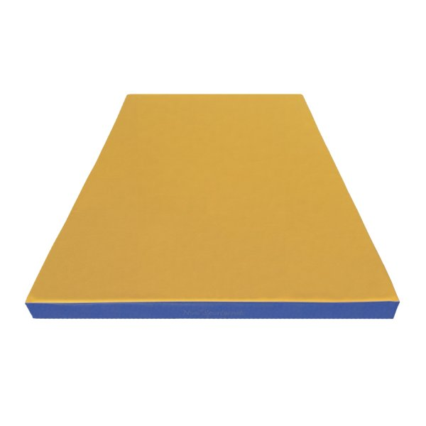Turnmatte 150 x 100 x 8 cm Gelb/Blau