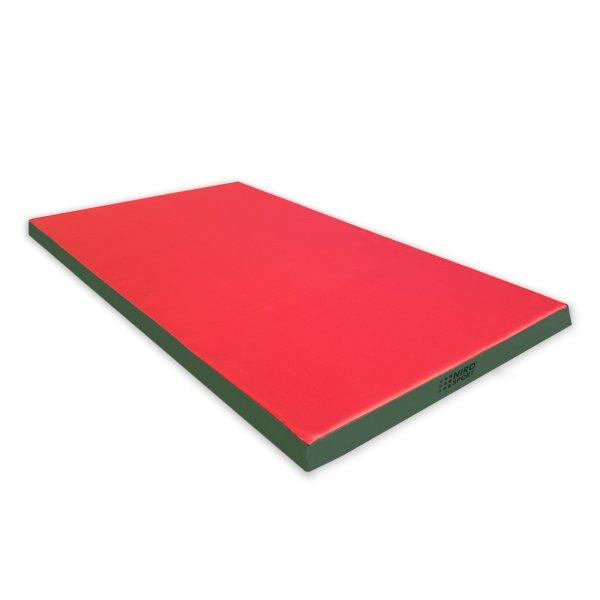 Turnmatte 200 x 100 x 8 cm Rot/Grün