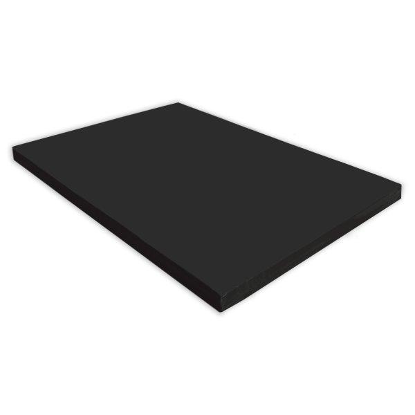 Gymnastics mat 150 x 100 x 8 cm Black