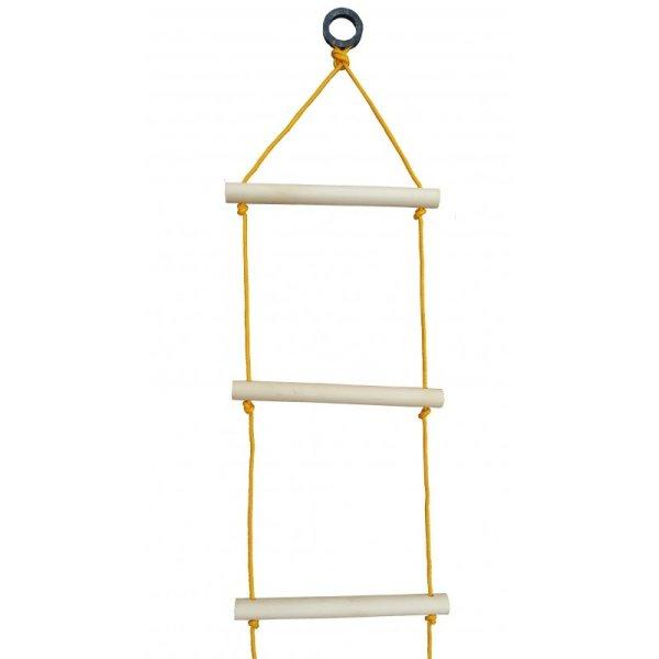 Strickleiter 2,60 m mit Befestigungsöse zum Einhängen/mit Aufhängering