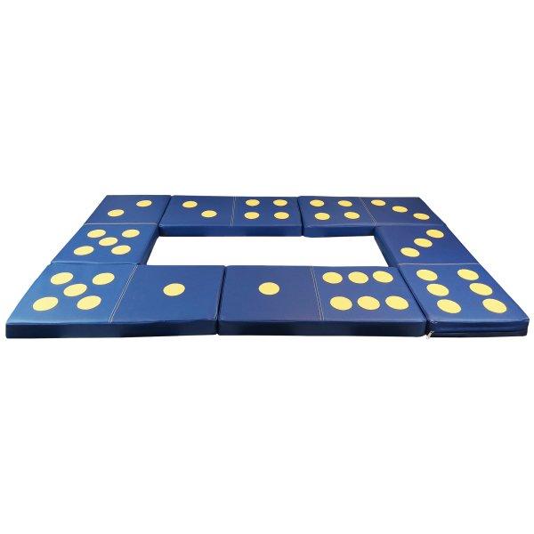 Bausteinset «Domino» Spielmatten für Kinder