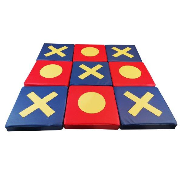 Bausteinset «Tic-Tac-Toe» Spielmatten für Kinder