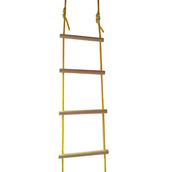 Strickleiter Holzsprossen 4,00 m