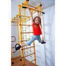 Sprossenwand FitTop M3 220 - 270 cm Yellow Wooden