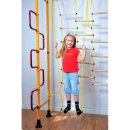 Sprossenwand FitTop M3 240 - 290 cm Yellow Wooden