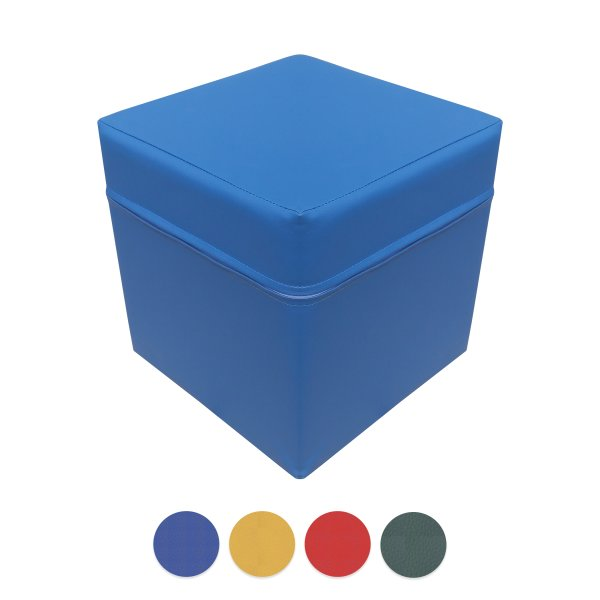 Sitzhocker Sitzwürfel Blau